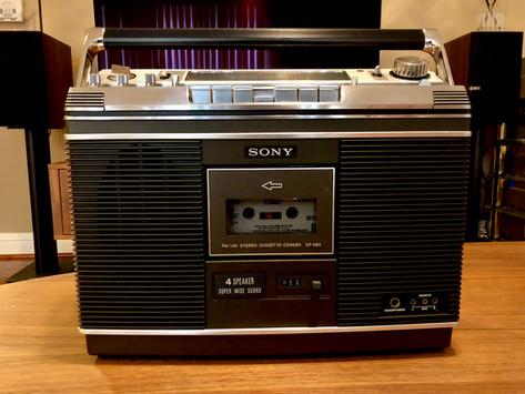 Sony CF-580 Boombox