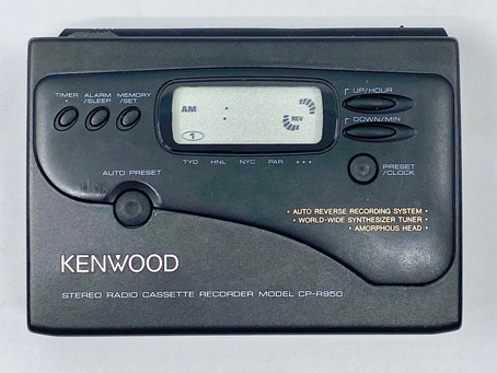 Kenwood CPR-950 Portable Cassette Player