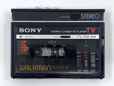 Sony Walkman WM-F30 Black Portable Cassette Player