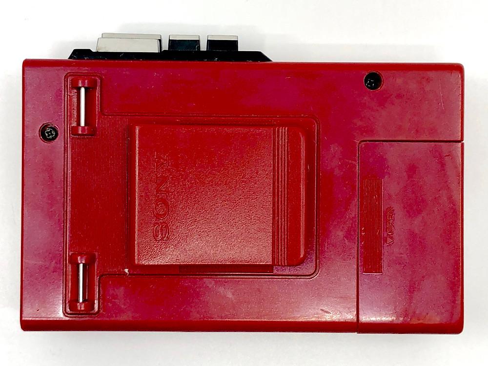 Sony Walkman WM-4 Red Portable Cassette Player