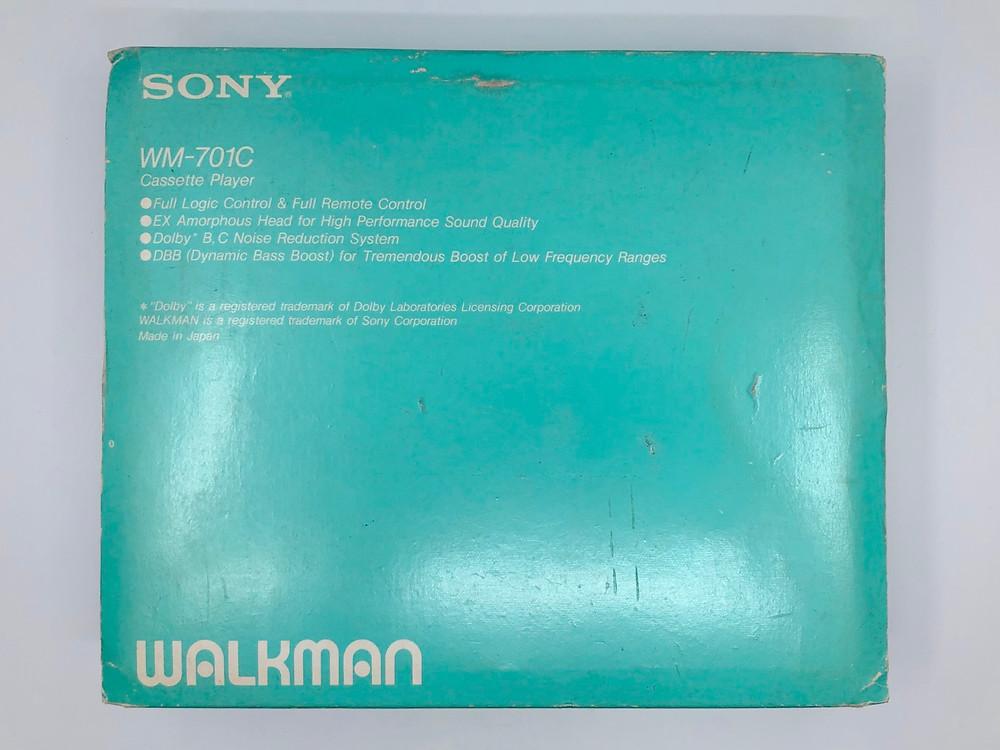 Sony WM-701C White