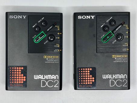 Sony Walkman Professional DC2 Portable Cassette Player