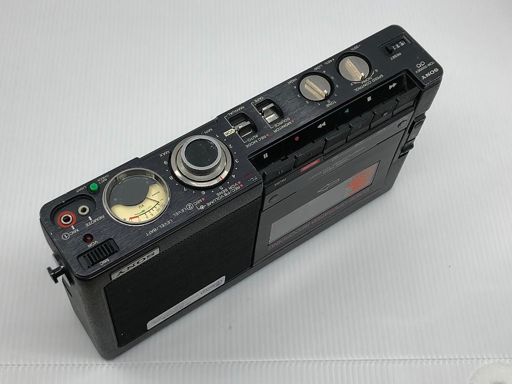 Sony TCM-5000EV Professional Portable Cassette Recorder