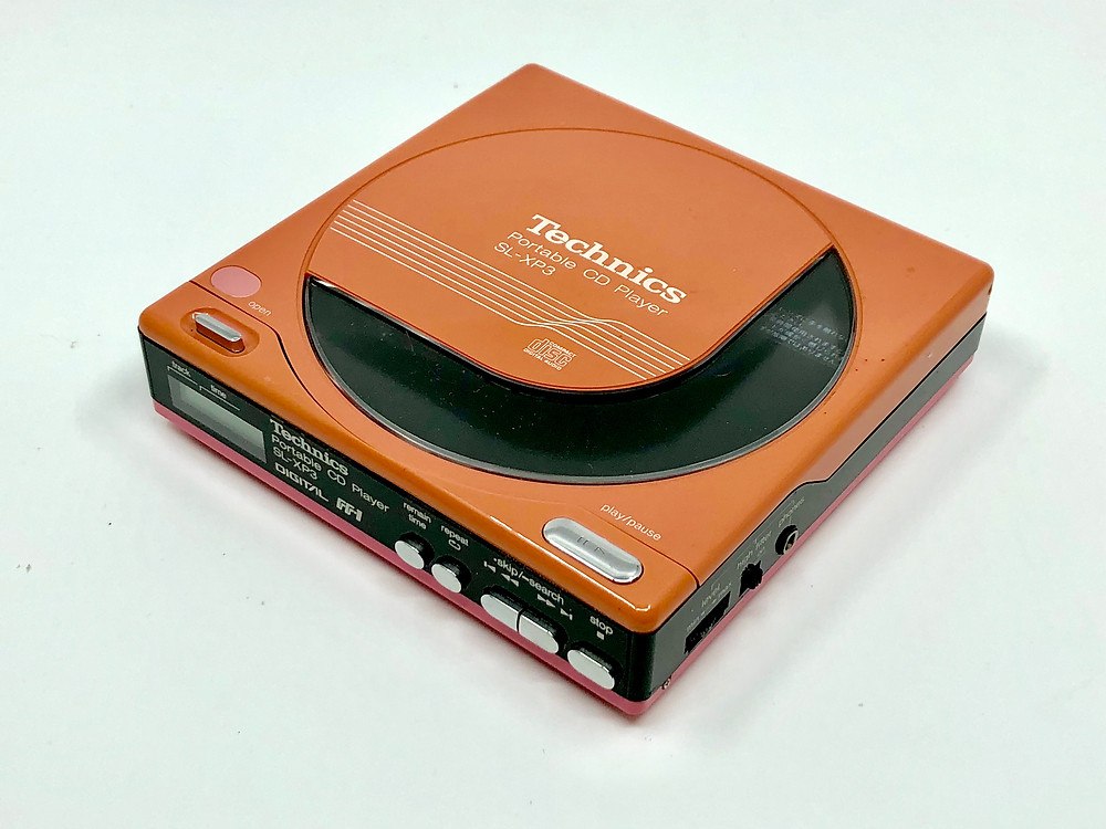 Technics SL-XP3 Red Portable CD Player