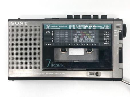 Sony WA-6000 Cassette-Corder