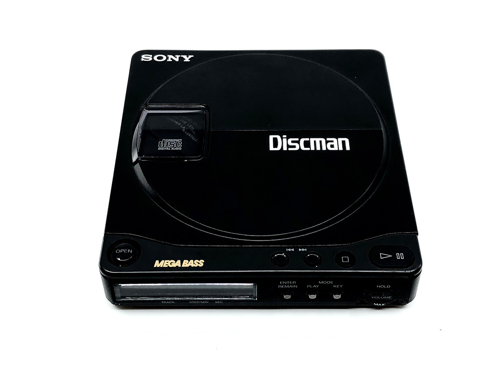 Sony Discman D-9 Portable CD Player