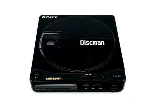 Sony Discman D-9 Portable CD Player