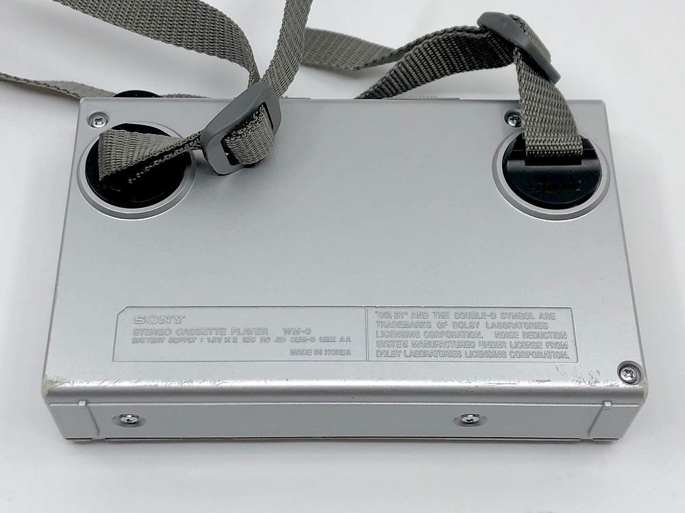 Sony Walkman WM-6 Portable Cassette Player