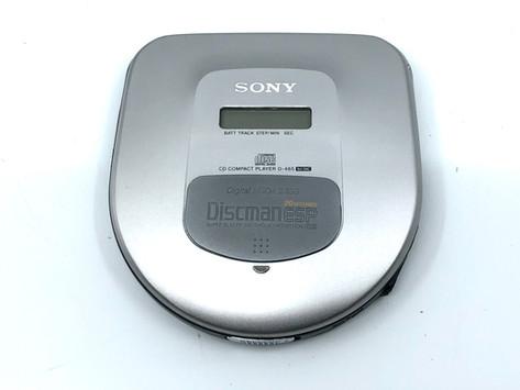 Sony Discman D-465 Portable CD Player
