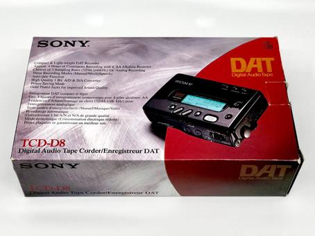 SONY TCD-D8 DAT Recorder