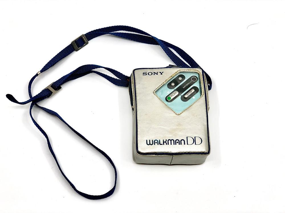 Sony Walkman WM-DD Blue Portable Cassette Player