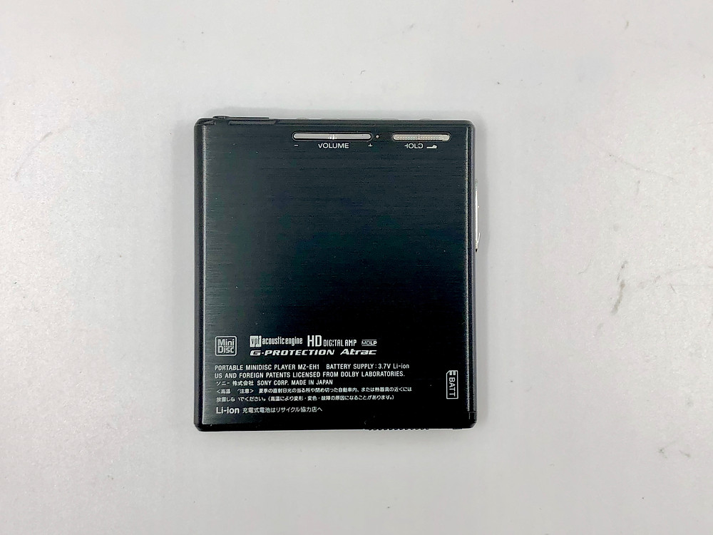 Sony MZ-EH1 Black Hi-MD Player