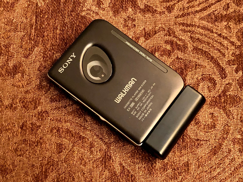 Sony Walkman WM-EX909 Dual Head Portable Cassette Player
