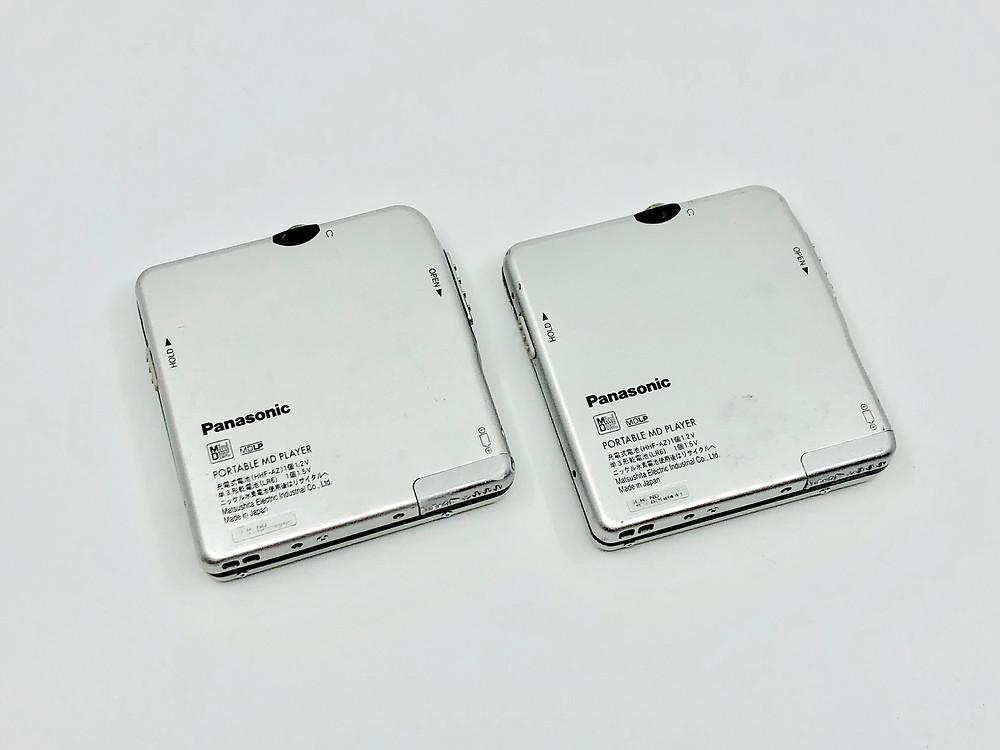Panasonic SJ-MJ18 Series ZH04, ZH01 MD Player