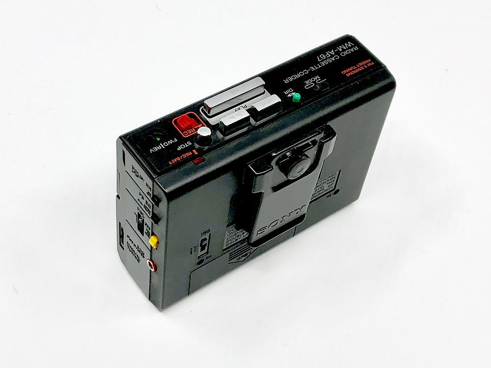 Sony Walkman WM-AF67 Portable Cassette Player