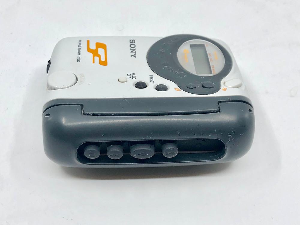 Sony Walkman WM-FS222 Portable Sports Cassette Player