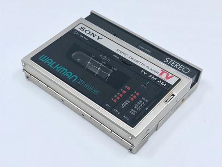 Sony Walkman WM-F30 Champagne Portable Cassette Player