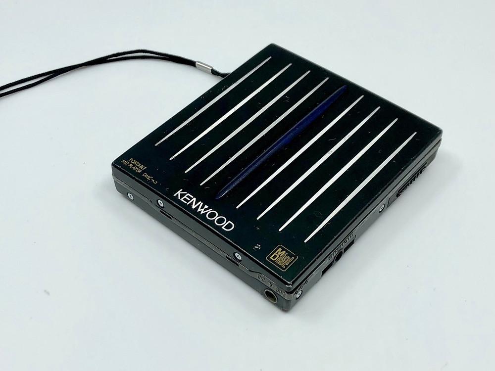 Kenwood DMC-K5 Black MD Player