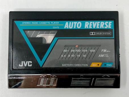JVC CX-F5K Portable Cassette Player