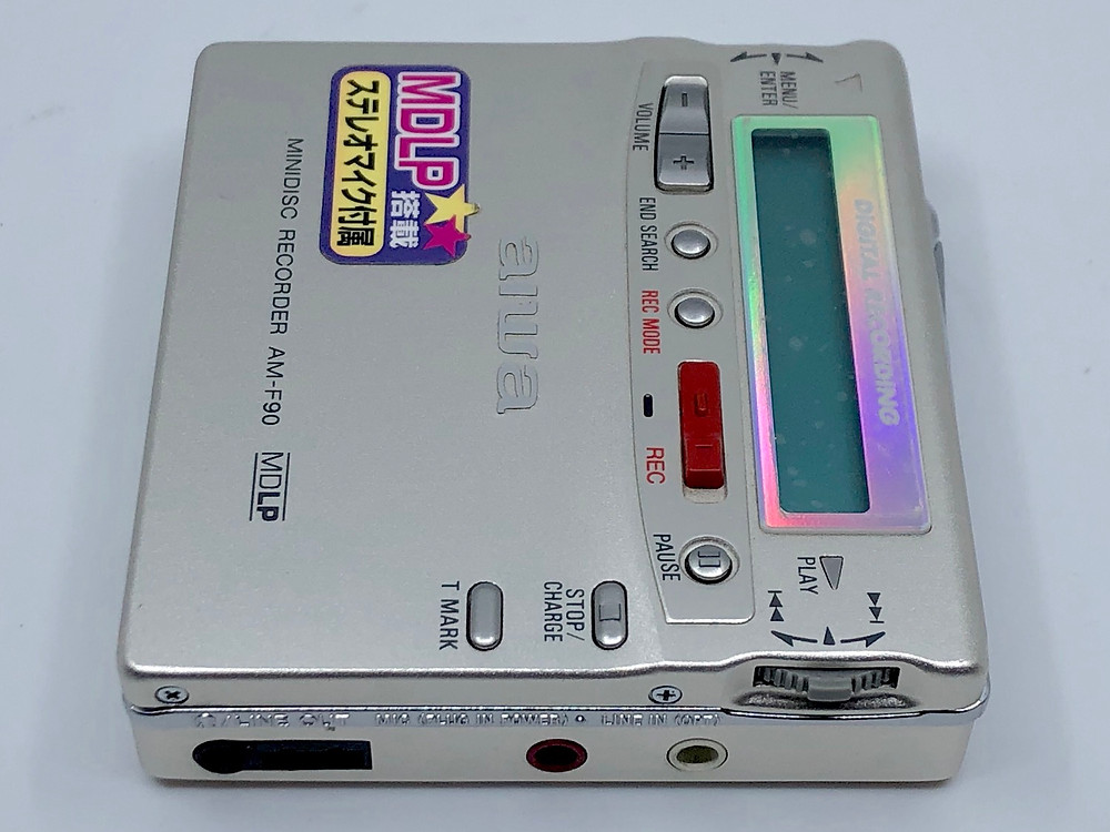 Aiwa AM-F90 MiniDisc MD Recorder
