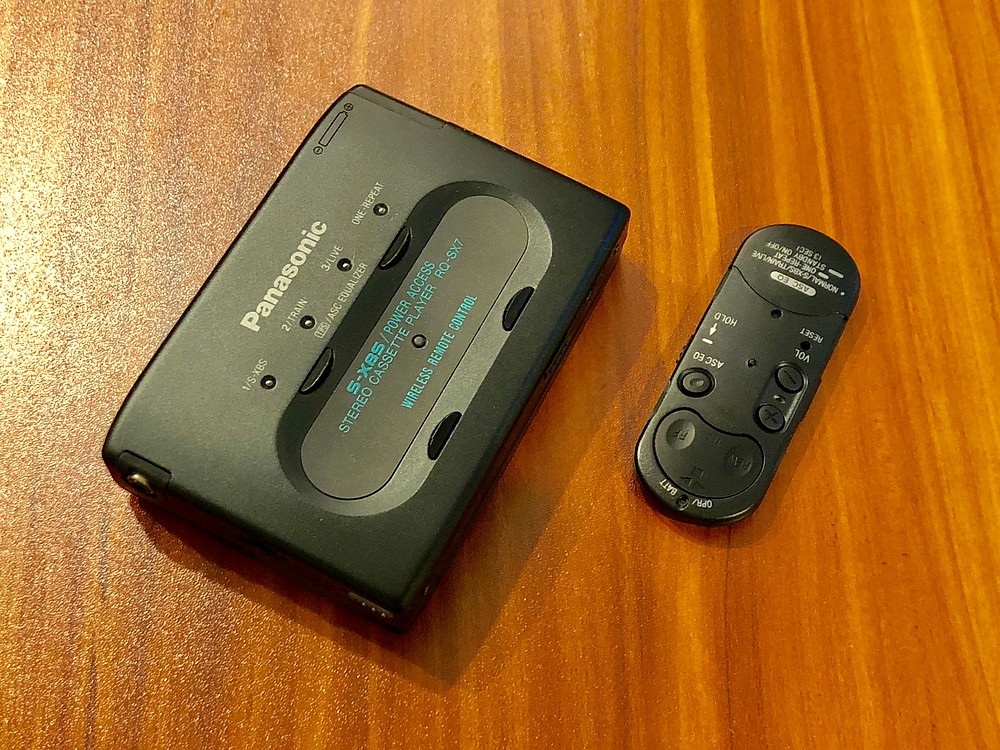 Panasonic RQ-SX7 Portable Cassette Player with Wireless Remote Controller