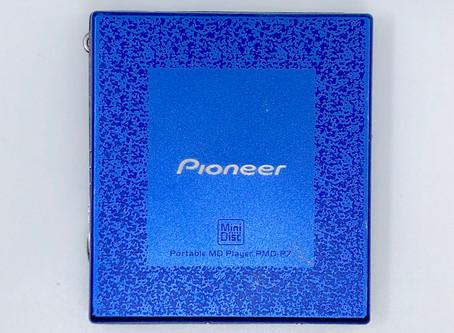Pioneer PMD-P7 Blue MiniDisc Player