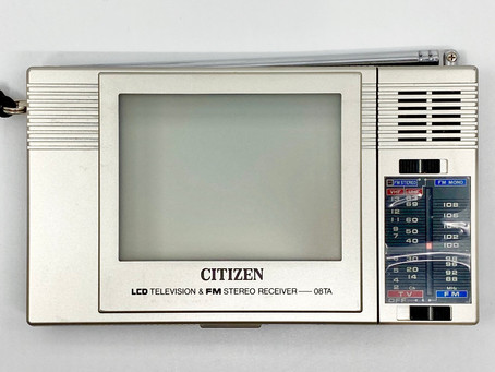 Citizen 08TA Radio LCD TV