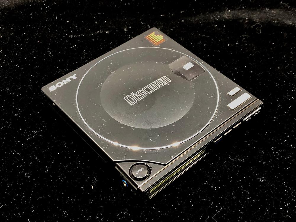Sony Discman D-10 Black Portable CD Player