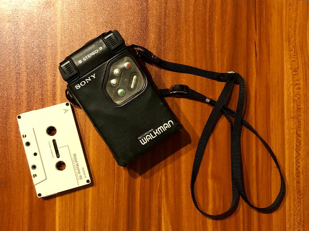 Sony Walkman WM-R2 Cassette Recorder