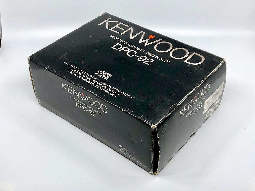 Kenwood DCP-92 Black Portable CD Player