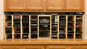 Custom Made CD Player Display Shelves
