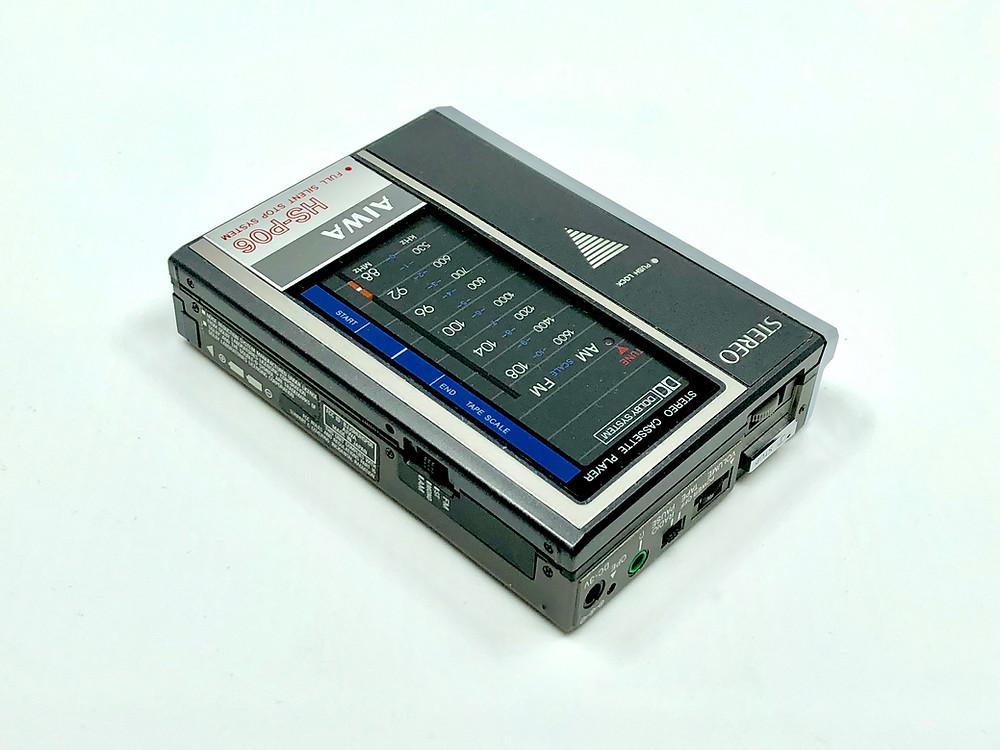 Aiwa HS-P06 Portable Cassette Player