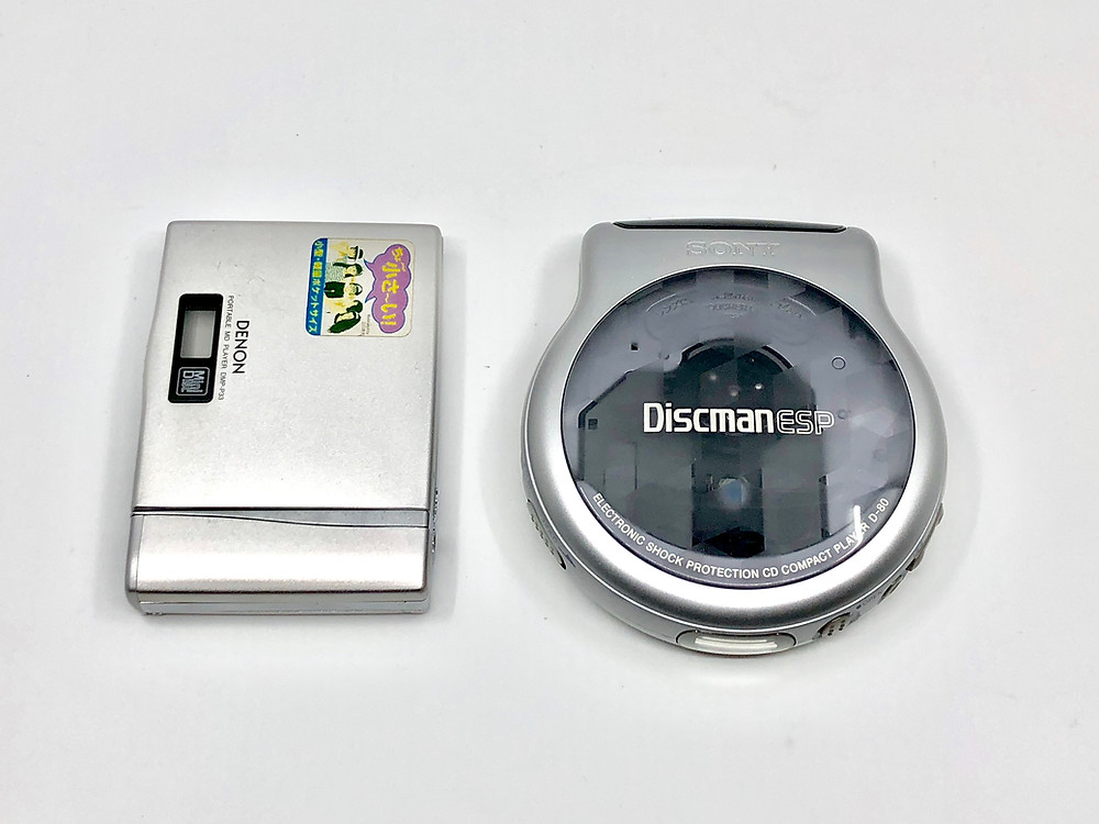 Sony Discman D80 Silver 8cm Portable CD Player