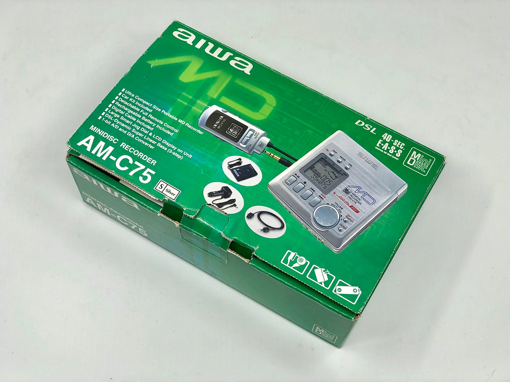 Aiwa AM-C75 MD Recorder