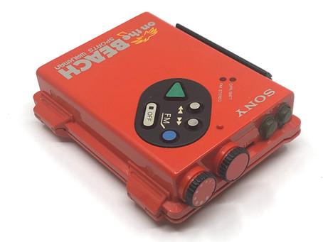 Sony Walkman WM-F5 Red On the Beach Edition