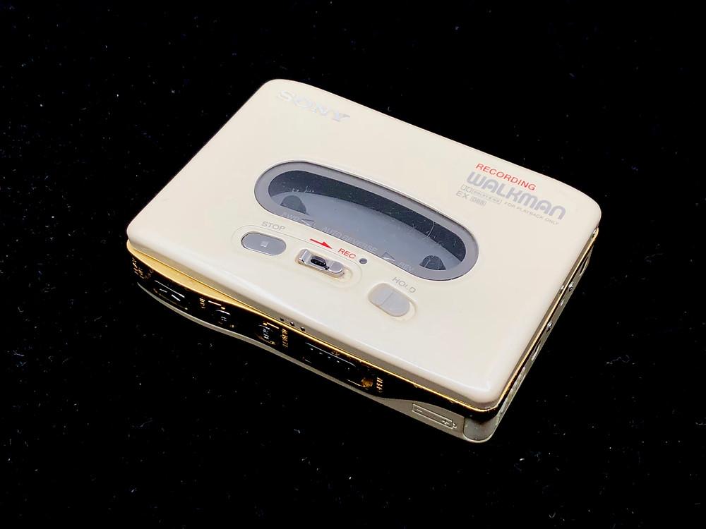 Sony Walkman WM-RX77 Portable Cassette Recorder Pearl White
