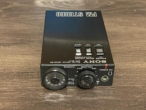 Sony Walkman SRF-80W Radio