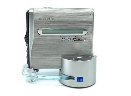 Sony MZ-NH1 MiniDisc Recorder Hi-MD