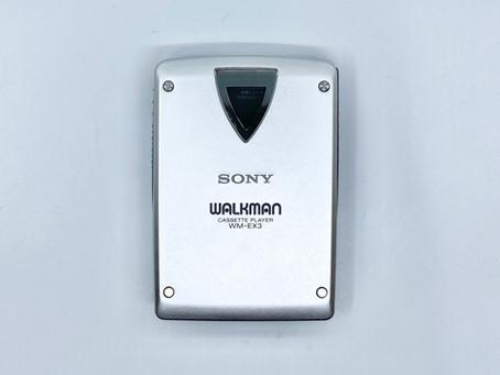 Sony Walkman WM-EX3 Silver Portable Cassette Player