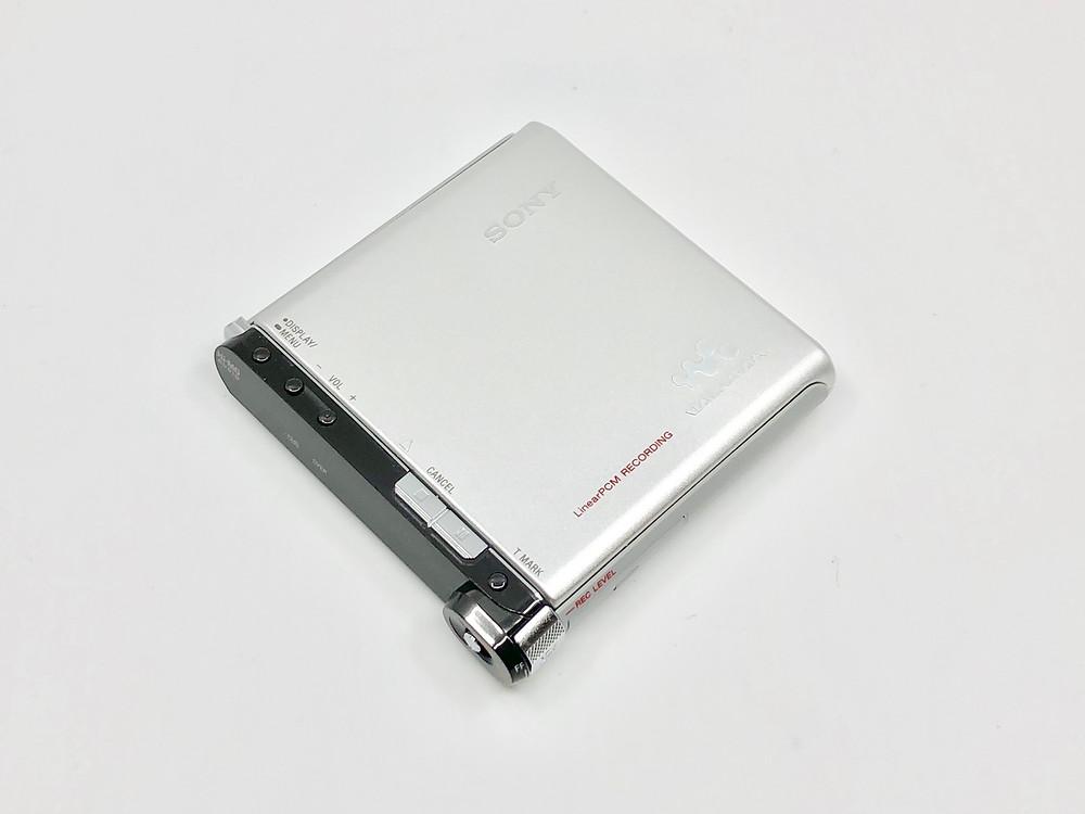 Sony MZ-RH1 Silver Hi-MD Recorder