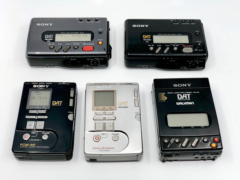 Sony portable DAT recorders