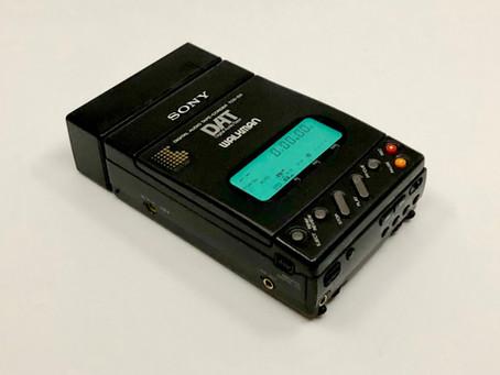 SONY TCD-D3 DAT Recorder
