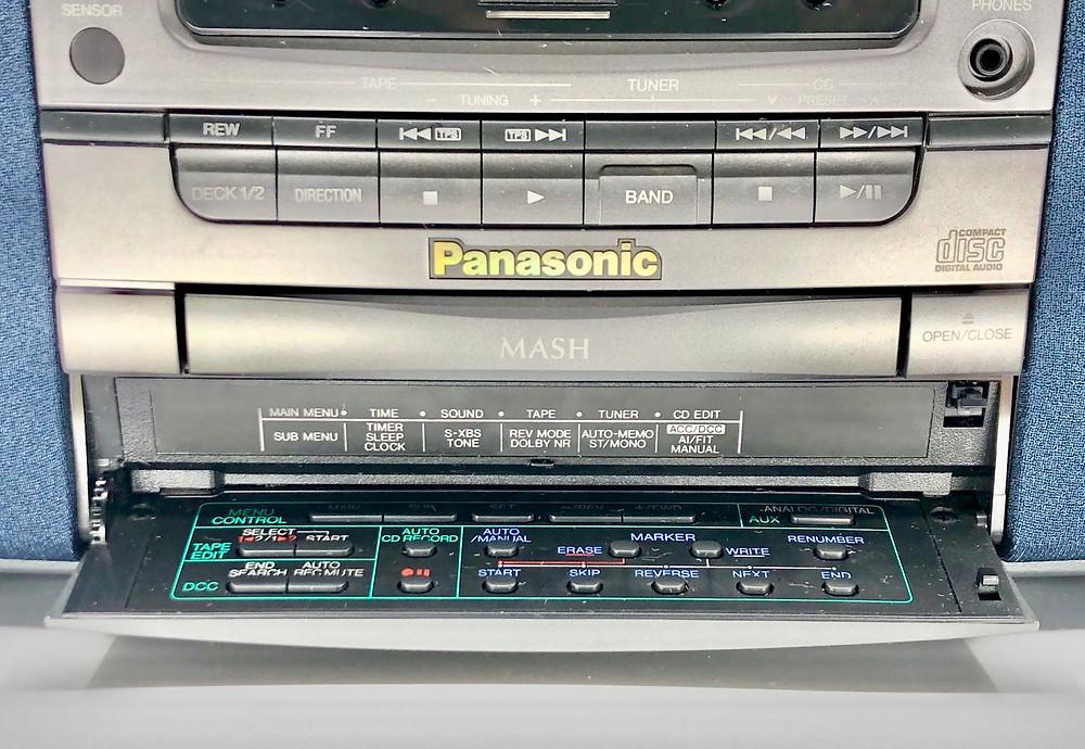 Panasonic RX-DD1 DCC Cassette CD Radio Boombox