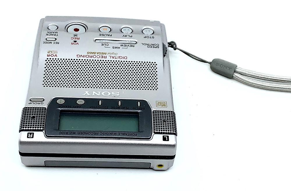 Sony MZ-B100 MD Recorder