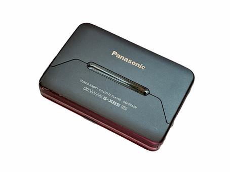 Panasonic RQ-SX65V Portable Cassette Player