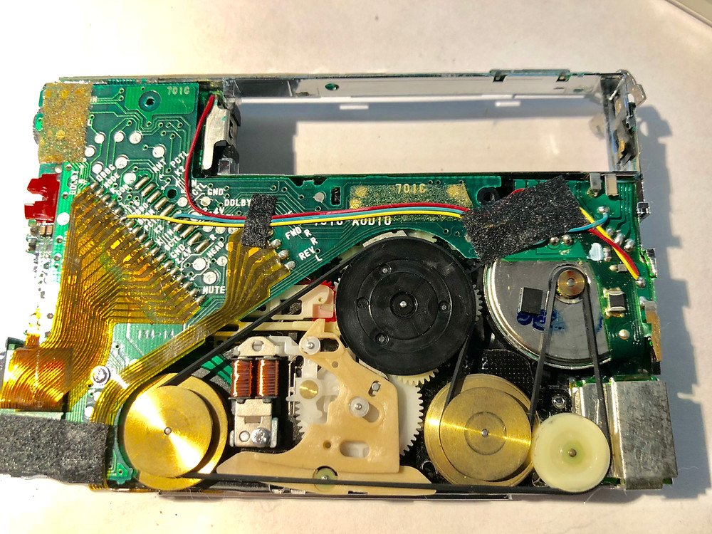 Sony Walkman WM-701C White Portable Cassette Player