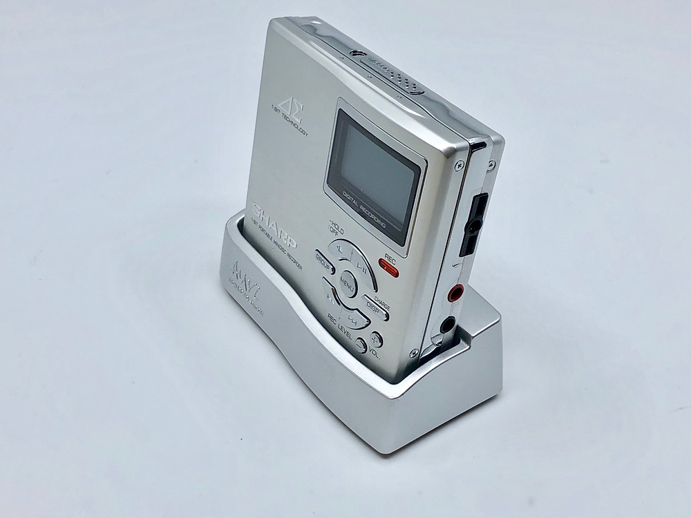 Sharp MD-DR7S 1-Bit MiniDisc Recorder Silver