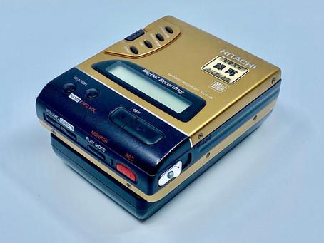 Hitachi MDR-20 MiniDisc Recorder