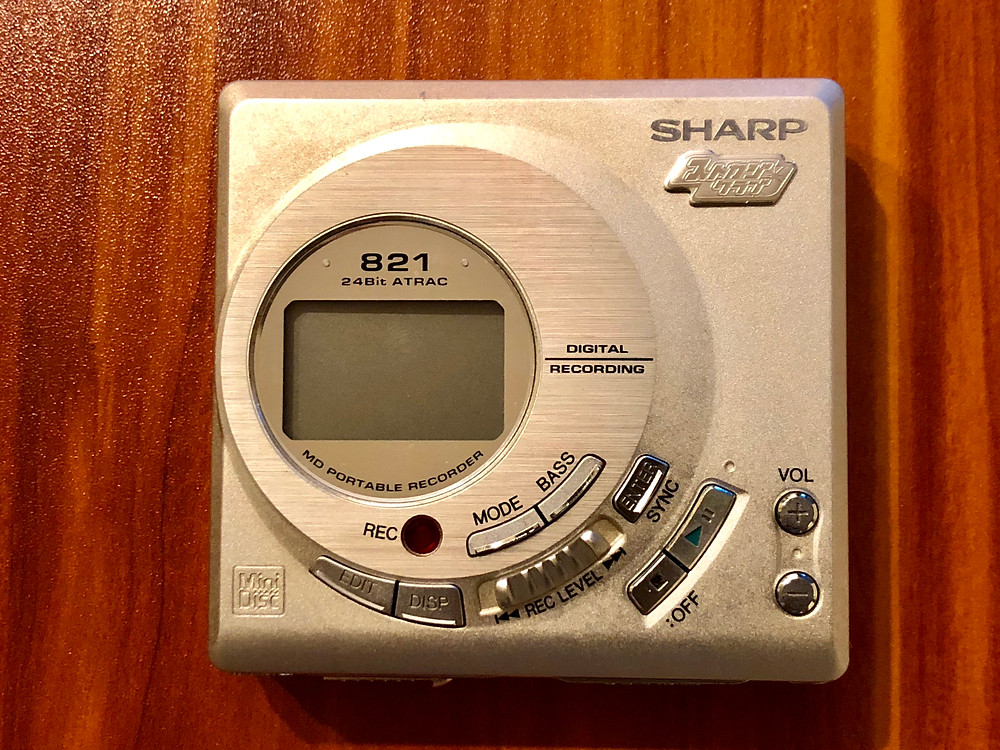Sharp MD-MT821S MD Recorder