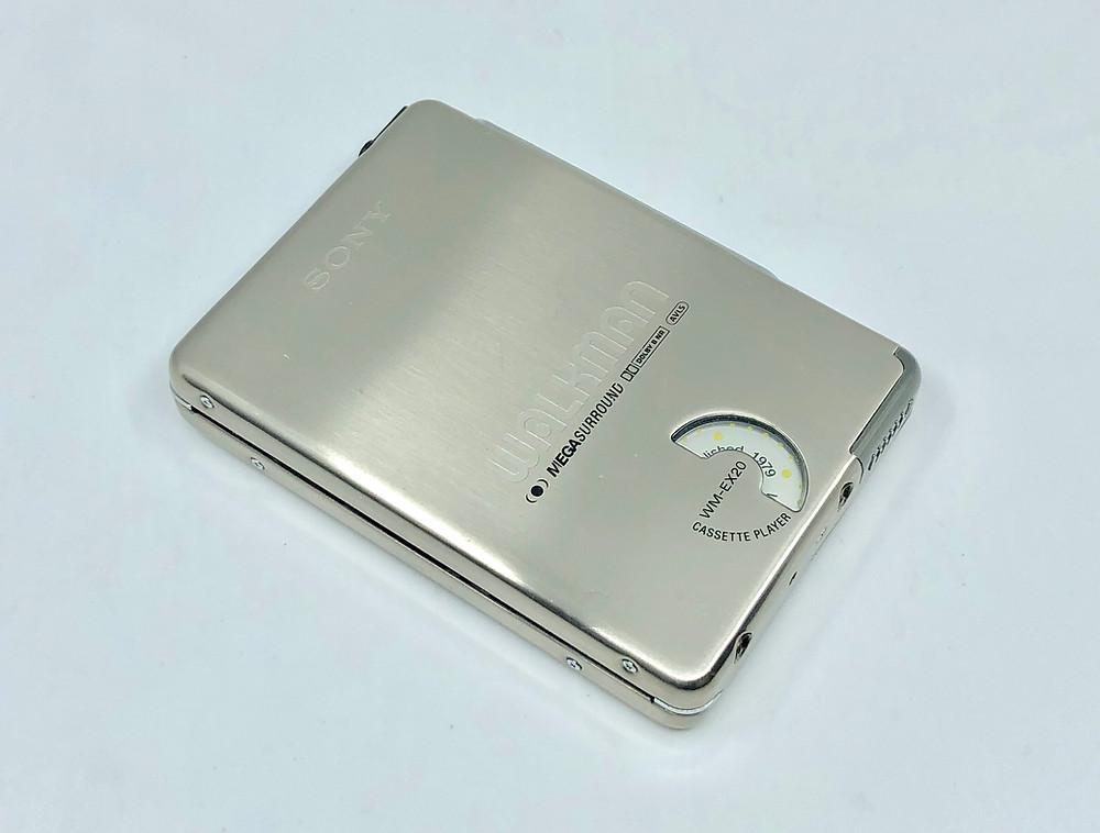 Sony Walkman WM-EX20 Portable Cassette Player 20th Anniversary Edition